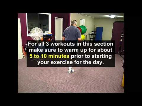 The Importance of a Warm Up BEFORE Starting Your Exercises
