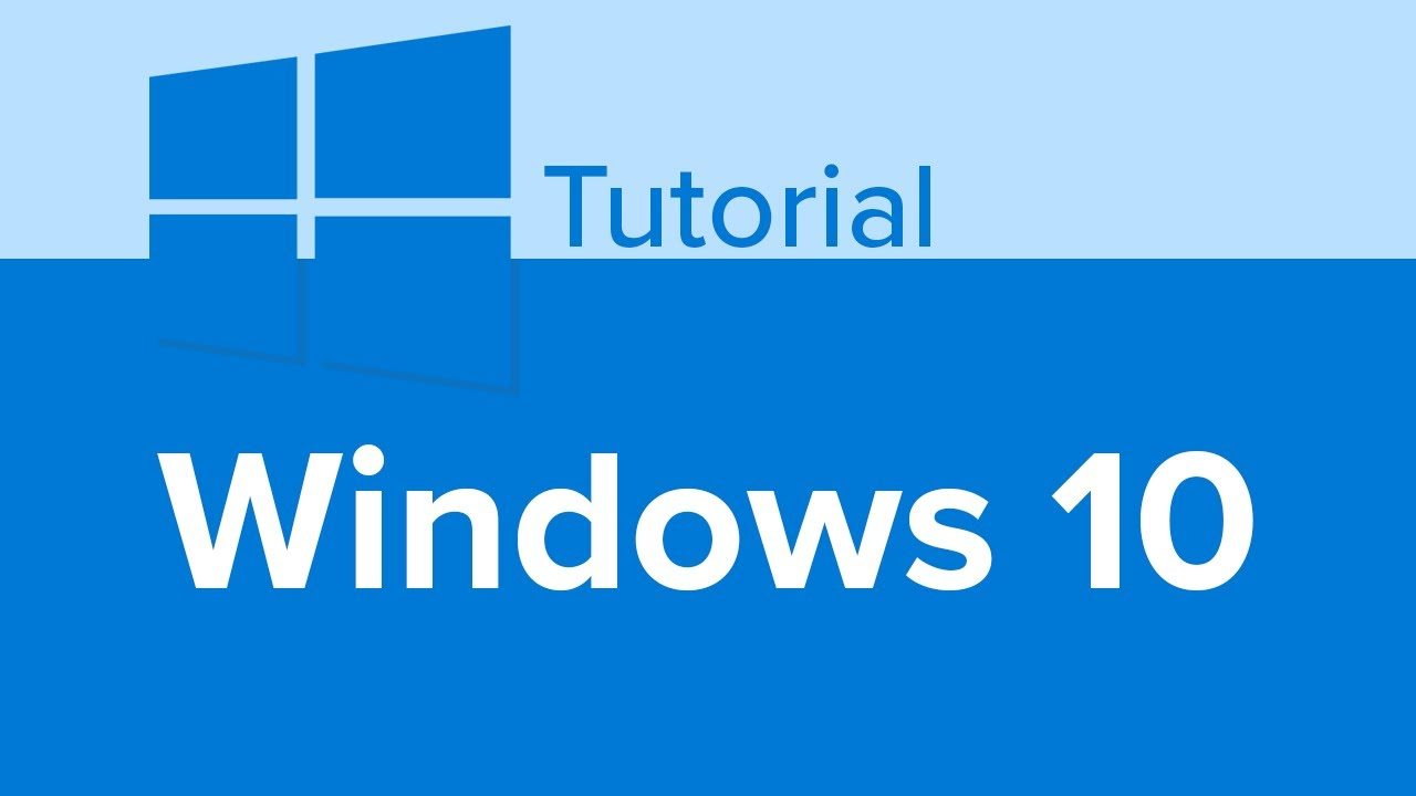 Learn Windows 10, Windows 10 Tutorial