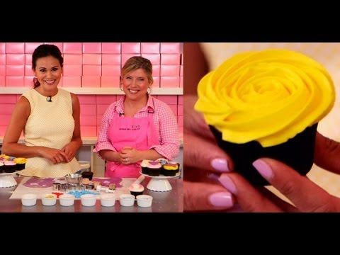 Cupcake Decorating Tips From the Pros | Georgetown Cupcake Tutorial | Food How To