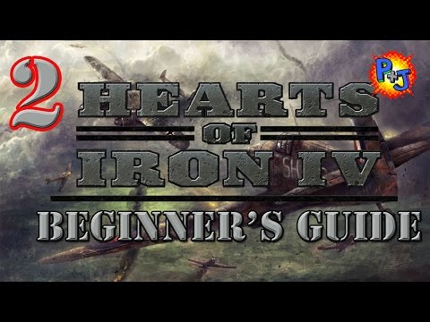 Hearts of Iron 4 Beginner Guide Tutorial Part 2: How to Conduct War on Land, Sea, & Air