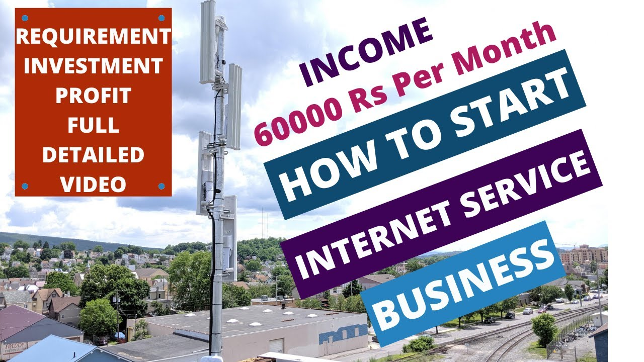 How to Start ISP Business in india