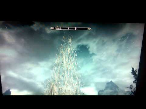 A road to the Gods found in Skyrim