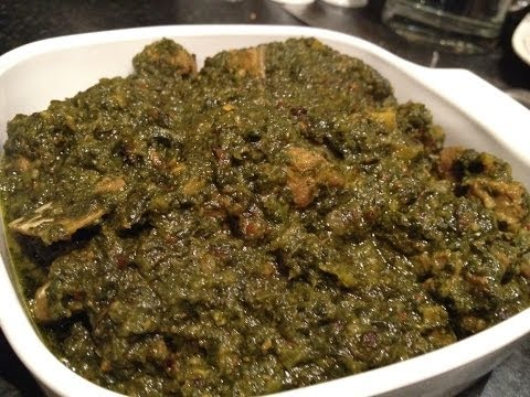 Saag Gosht (Lamb and Spinach curry)