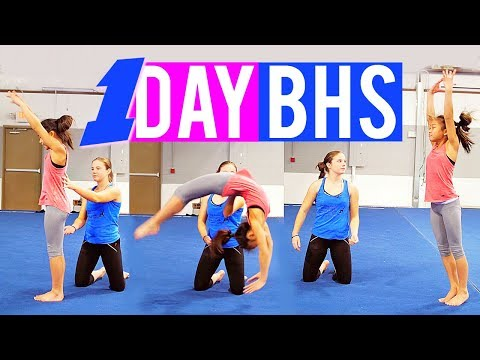 Rachel Marie's SECRET on How to Get your Back Handspring in One Day