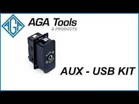 AGA AUX-USB Kit