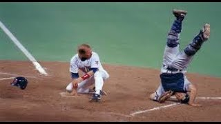 MLB Brutal Home Plate Collisions (HD)
