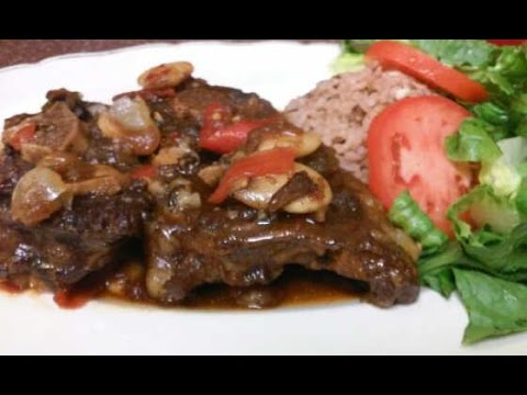 HOW TO COOK JAMAICAN STYLE OXTAIL RECIPE VOLUME (2) 2015