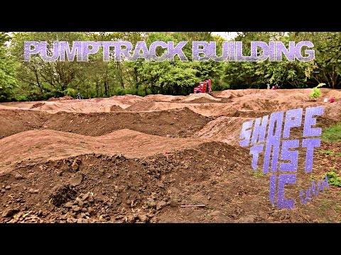 Building one of the biggest Pumptracks in Germany - Shapetastic Crew (3D binaural) -subtitled--