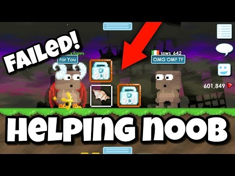 Helping Noob ( FAILED ) | Growtopia