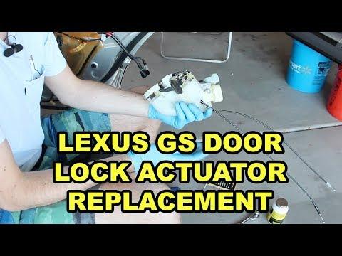 1998-2005 Lexus GS Rear Door Lock Actuator Replacement