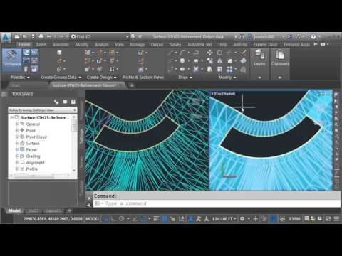 Finding & patching holes in a Civil 3D surface model