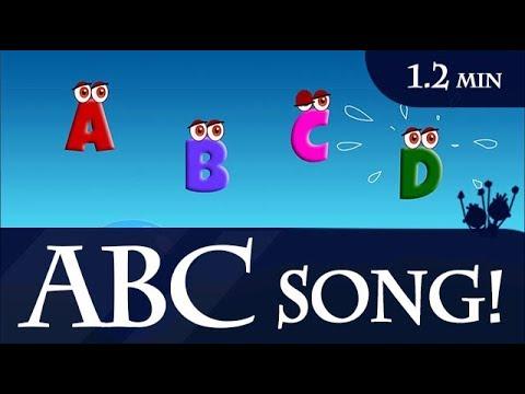 English Alphabet ABC Nursery Rhymes and Songs