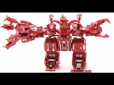 Bakugan Maxus Drago (Dragonoid) 7in1 Battle Monster Toy