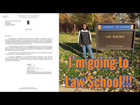Season 1 - Episode 35: I GOT INTO LAW SCHOOL!!! MY GRAD SCHOOL APPLICATION PROCESS &  MY ACCEPTANCE