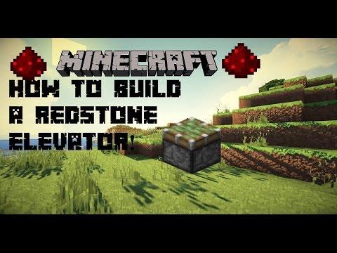 Minecraft Tutorial:How to make a Redstone Elevator!