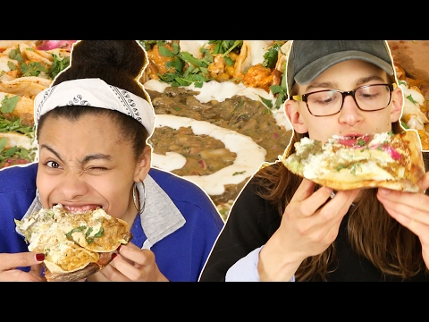 Pizza Lovers Try A Taco Pizza
