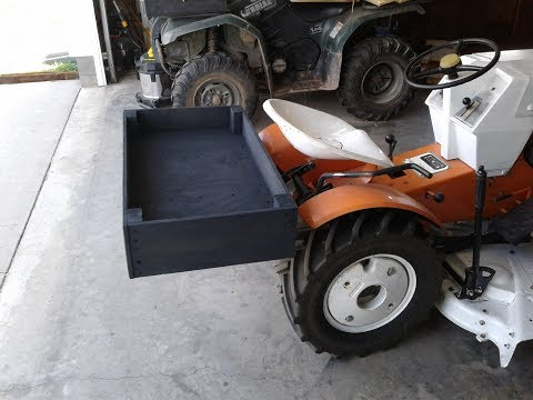 DIY: REAR BED ATTACHMENT FOR THE SEARS SUBURBAN TRACTOR