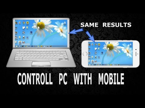 How to control your PC with android mobile | control your computer from mobile Hindi/Urdu