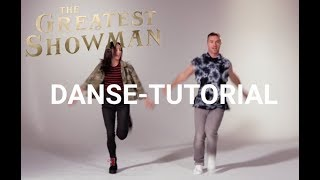The Greatest Showman | Danse-tutorial This is Me | Danmark 2017