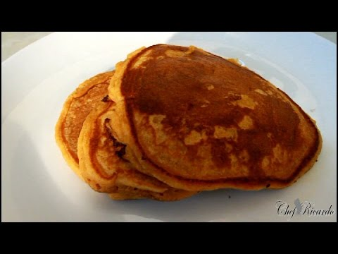 Sweet Potato Pancakes - Healthy Breakfast Recipes | Recipes By Chef Ricardo
