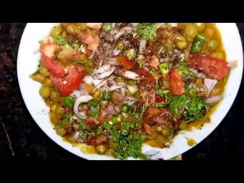 Street style healthy Ragda chaat at home