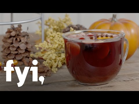 Beat the Chills: Mulled Wine Cocktail Recipe | FYI