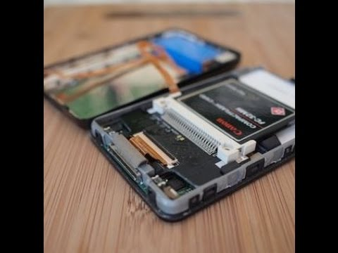 iPod Classic 5.5 gen hdd to compact flash (cf Card) Upgrade