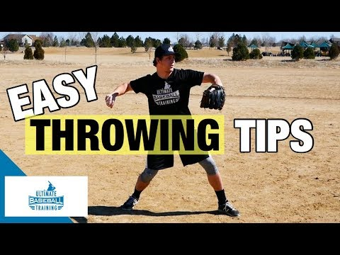 How To: Throw A Baseball Better   EASY Throwing Tips!