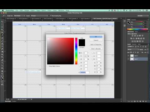 Opening and Editing PDF Files in Photoshop (Adobe Photoshop CS6)