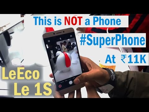 LeEco(LeTV) Le 1S INDIA | Hands on Review | Specification | Camera | Amazing Phone At This Price |
