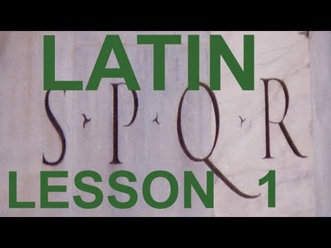 0003 Do you want to learn how to speak Ancient Latin? This course makes it easy.