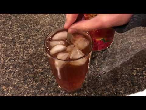 4c raspberry iced tea mix (review)