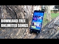 How to Download Unlimited HD Songs for FREE?