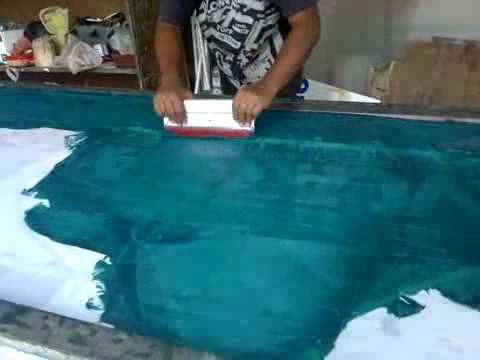 How to banner (Screen) Printing