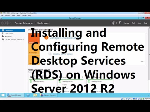 Installing and Configuring Remote Desktop Services RDS on Windows Server 2012 R2