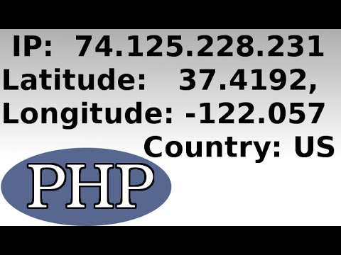 Get And Save A Client's IP Address, Location, And Other Data In PHP