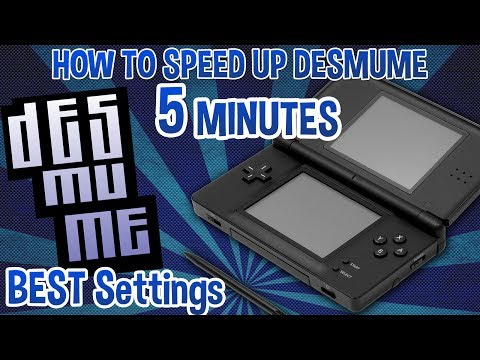 HOW TO SPEED UP DESMUME EMULATOR - 5 Minute Tutorial