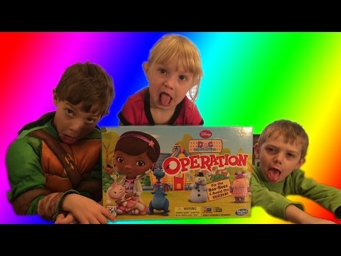 YouTube Doc McStuffins Operation Game