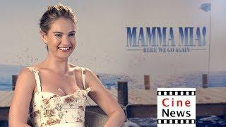 Mamma Mia – Interview: Lily James
