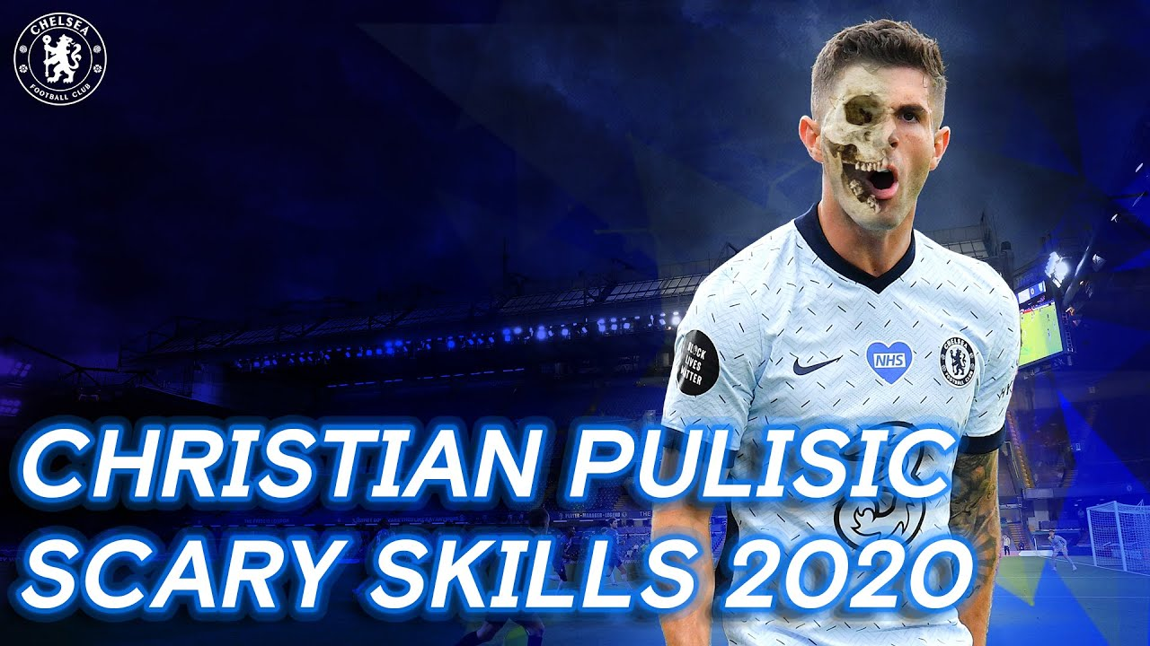 Christian Pulisic Scary Skills, Goals & Assists 2020