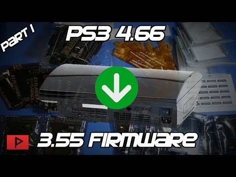 [How To] Downgrade Fat PS3 From 4.66 to 3.55 Firmware Using E3 Flasher Tutorial (Part 1 of 3)