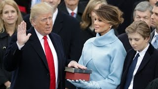 Donald Trump inauguration day – watch live