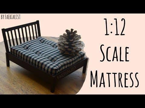 1:12 Scale Mattress   Faerialist
