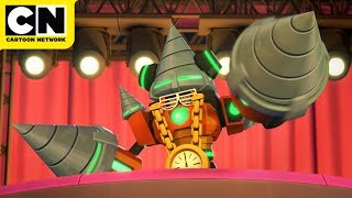 Mega Man: Fully Charged | Drill Man's Musical Performance | Cartoon Network