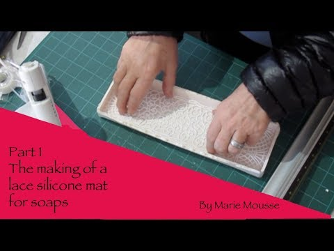 Making of a lace silicone mat- Part 1