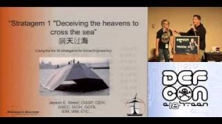 DEFCON 18: Using the 36 Stratagems for Social Engineering 1/4
