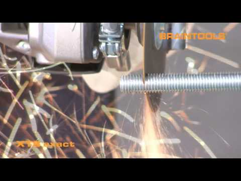Burr-free cutting of thread rods: BRAINTOOLS XT8 EXACT tip
