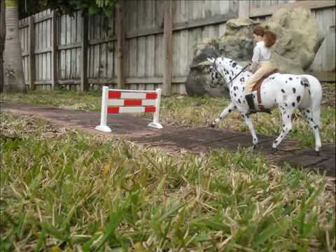 Breyer StopMotion pt.1 Show Jumping
