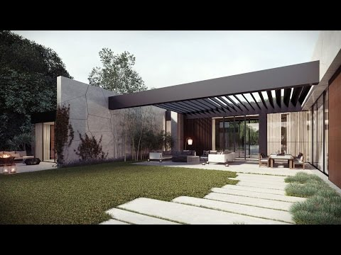 Front Yard Completed With Terrace With Wooden