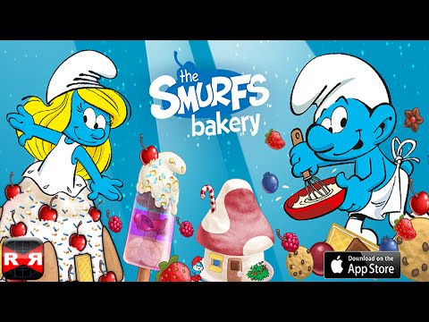 The Smurfs Bakery - Dessert Maker - All Desserts Unlocked - iPhone/iPad/iPod Touch Gameplay